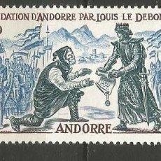 Sellos: ANDORRA FRANCESA YVERT NUM. 169 ** NUEVO SIN FIJASELLOS. Lote 222873656