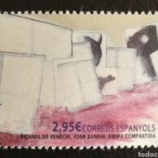 Sellos: ANDORRA N°443 MNH**BIENAL DE VENECIA 2016(FOTOGRAFÍA ESTÁNDAR). Lote 223479437