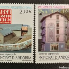 Sellos: ANDORRA N°296/97 MNH**PATRIMONIO ARQUITECTÓNICO 2002 (FOTOGRAFÍA ESTÁNDAR). Lote 223481737