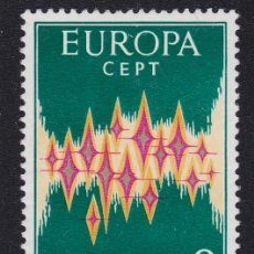 Sellos: ANDORRA ESPAÑOLA 1972 - EUROPA CEPT SELLO NUEVO SIN GOMA. Lote 224487283