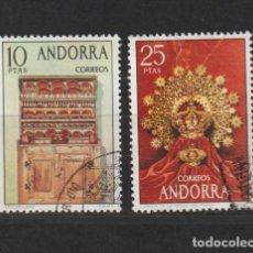 Sellos: ANDORRA ESPAÑOLA. EDIFIL Nº 91/92. USADOS. Lote 224604308