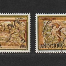 Sellos: ANDORRA ESPAÑOLA. EDIFIL Nº 94/95. USADOS. Lote 224605137