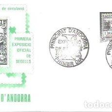 Sellos: FDC ANDORRA 1982. Lote 225976265