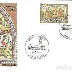 Sellos: FDC 1980. Lote 225976925
