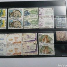 Sellos: LOTE DE 58 SELLOS DEL PRINCIPADO DE ANDORRA. Lote 229237695