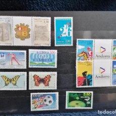Sellos: ANDORRA FRANCIA AÑO 1994 COMPLETO NUEVO ***. Lote 254625365
