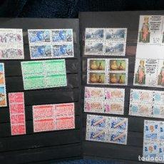 Sellos: ANDORRA FRANCESA AÑO 1991 COMPLETO NUEVO *** BLOQUE DE CUATRO. Lote 232297585