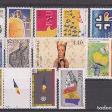 Sellos: ANDORRA FRANCESA AÑO COMPLETO 1995. Lote 235314700