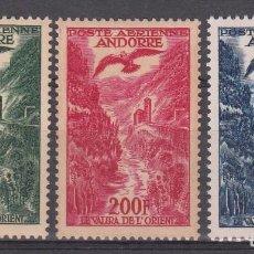 Sellos: ANDORRA DESPACHO FRANCÉS AÉREOS NUMS A2 - A4 - NUEVOS SIN FIJASELLOS. Lote 236094770