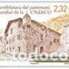 Sellos: SELLO NUEVO DE ANDORRA FRANCESA 2020, CANDIDATURA UNESCO. Lote 236173470