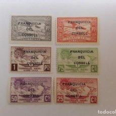 Sellos: AÑO 1932 ANDORRA ESPAÑOLA SELLOS NO EXPENDIDOS FRANQUICIA DEL CONSELL NUEVO. Lote 236369740