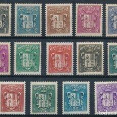 Sellos: SELLOS ANDORRE / ANDORRA 1937 -1943 ESCUDOS Y&T 47/60**. Lote 236686760