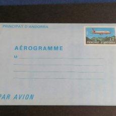 Sellos: ANDORRA FRANCIA O FRANCESA AEROGRAMA EDIFIL 1 NUEVO. Lote 239837980