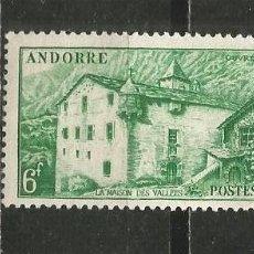 Timbres: ANDORRA FRANCESA YVERT NUM. 126 NUEVO SIN GOMA. Lote 241277455