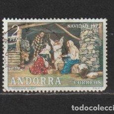 Sellos: ANDORRA ESPAÑOLA. Nº 79. AÑO 1972. NAVIDAD. USADO.. Lote 241547150