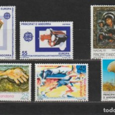 Sellos: ANDORRA ESPAÑOLA. AÑO 1991** COMPLETO. NUEVO SIN FIJASELLOS... Lote 242011720