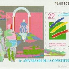 Sellos: ANDORRA ESPAÑOLA. Nº 241**. AÑO 1994. ANIVERSARIO DE LA CONSTITUCIÓN. NUEVO SIN FIJASELLOS... Lote 242014125