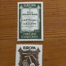 Sellos: ANDORRA FRANCESA, EUROPA, 1985, EDIFIL 360 Y 361, NUEVOS **. Lote 243121975