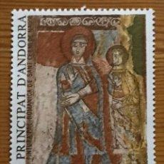 Sellos: ANDORRA FRANCESA, PINTURA PRE ROMANICA, 1985, EDIFIL 365, NUEVOS **. Lote 243125245