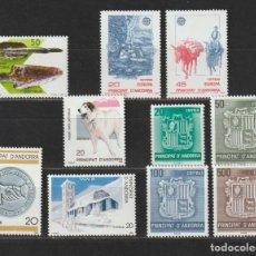 Sellos: ANDORRA ESPAÑOLA. AÑO 1988** COMPLETO. NUEVO SIN FIJASELLOS... Lote 274426518
