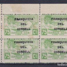 Timbres: NE27 LOTE 4 SELLO DE ANDORRA DE PAISAJES DEL AÑO 1932 ** FRANQUICIA DEL CONSELL (NUEVO SIN CHARNELA). Lote 244587900