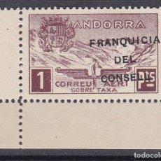 Sellos: NE28 SELLO DE ANDORRA DE PAISAJES DEL AÑO 1932 ** FRANQUICIA DEL CONSELL (NUEVO SIN CHARNELA). Lote 244979570