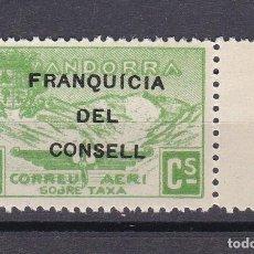 Sellos: NE27 SELLO DE ANDORRA DE PAISAJES DEL AÑO 1932 ** FRANQUICIA DEL CONSELL (NUEVO SIN CHARNELA). Lote 244979780