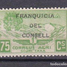 Sellos: NE27 SELLO DE ANDORRA DE PAISAJES DEL AÑO 1932 ** FRANQUICIA DEL CONSELL (NUEVO SIN CHARNELA). Lote 244980190