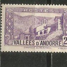 Francobolli: ANDORRA FRANCESA YVERT NUM. 25 NUEVO SIN GOMA. Lote 245092205