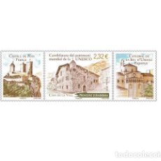 Sellos: FRENCH ANDORRA 2021 - CANDIDATURA UNESCO MNH. Lote 246591940