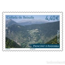 Sellos: FRENCH ANDORRA 2021 - COLLADA BEIXALIS MNH. Lote 246592150