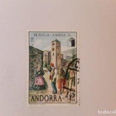 Sellos: ANDORRA E. SELLO USADO. Lote 246642680