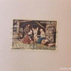 Sellos: ANDORRA E. SELLO USADO. Lote 246642715