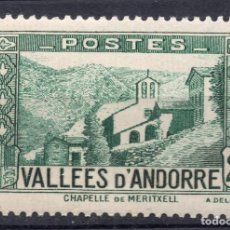 Sellos: ANDORRA, ADMIN FRANCESA, 1942 MICHEL 89. Lote 270871138