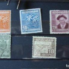 Sellos: ANDORRA 1948/53 TIPOS DIVERSOS NUEVOS Y USADOS VER DESCRIPCION Y FOTOS. Lote 246728765