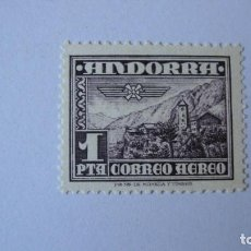 Sellos: ANDORRA ESPAÑOLA 1951 PAISAJE AEREO EDIFIL 59 NUEVO SIN CHARNELAS. Lote 246730175