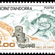 Timbres: [27] 1985 ANDORRA FRANCESA YV 338 VALLE DE SANTA JULIA ** MNH PERFECTO ESTADO (YVERT&TELLIER). Lote 248216695