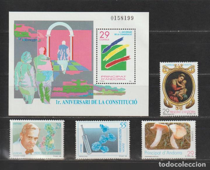 ANDORRA ESPAÑOLA. AÑO 1994** COMPLETO. NUEVO SIN FIJASELLOS.. (Sellos - Extranjero - Europa - Andorra)