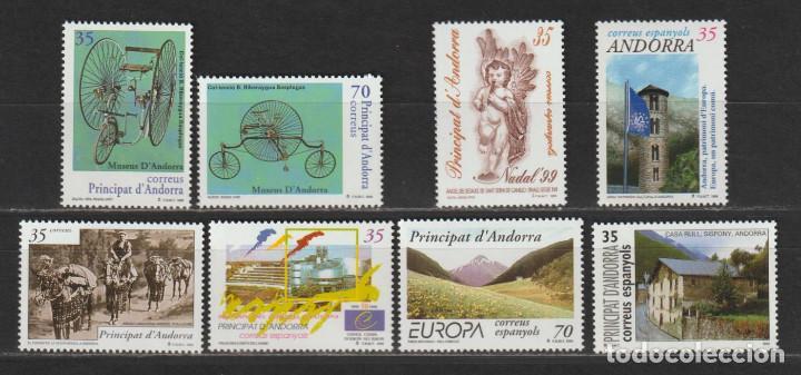 ANDORRA ESPAÑOLA. AÑO 1999** COMPLETO. NUEVO SIN FIJASELLOS.. (Sellos - Extranjero - Europa - Andorra)