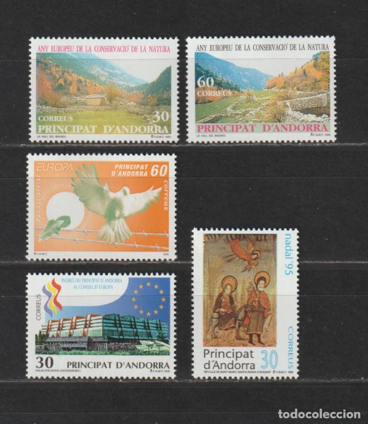 ANDORRA ESPAÑOLA. AÑO 1995** COMPLETO. NUEVO SIN FIJASELLOS.. (Sellos - Extranjero - Europa - Andorra)