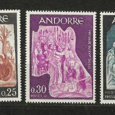 Selos: ANDORRA FRANCESA Nº 184 AL 186 (**). Lote 252157785