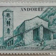 Sellos: 1944. ANDORRA FRANCESA. 103. IGLESIA DE SAN JUAN DE CASELLES. NUEVO.. Lote 253471310