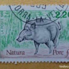 Sellos: ANDORRA FRANCESA - 1989. Lote 253922165
