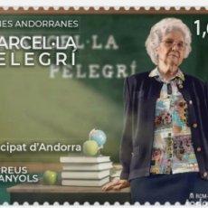 Sellos: ANDORRA ESPAÑOLA 2021 MUJERES ANDORRANAS MARCEL LA PELEGRI - NUEVO MNH. Lote 254683940