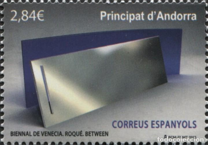ANDORRA 2015 EDIFIL 431 SELLO ** ARTE BIENAL DE VENECIA ROQUE BETWEEN MICHEL 427 YVERT 417 PRINCIPAT (Sellos - Extranjero - Europa - Andorra)