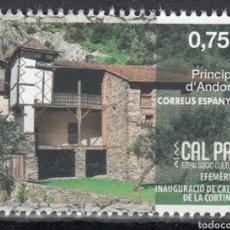 Sellos: ANDORRA ESPAÑOLA CORREO 2020 EDIFIL 497 ** MNH (FOTOGRAFÍA ESTÁNDAR). Lote 258510530