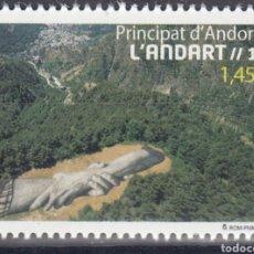 Sellos: ANDORRA ESPAÑOLA CORREO 2020 EDIFIL 499 ** MNH L,ANDART (FOTOGRAFÍA ESTÁNDAR). Lote 258511050