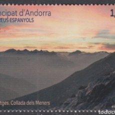 Sellos: ANDORRA ESPAÑOLA CORREO 2020 EDIFIL 501 ** MNH PAISAJES (FOTOGRAFÍA ESTÁNDAR). Lote 258513410