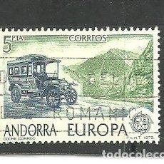 Sellos: ANDORRA ESPAÑOLA 1979 - EDIFIL NRO. 125 - USADO -. Lote 268413654
