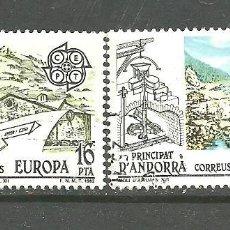 Sellos: ANDORRA ESPAÑOLA 1983 - EDIFIL NRO. 168-69 - USADO -. Lote 268413974
